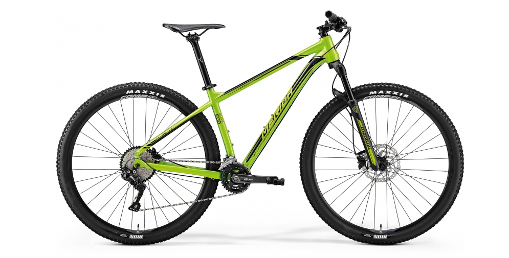 MERIDA BIG.NINE 500 Green(Black) 2018 vel. XL (20)