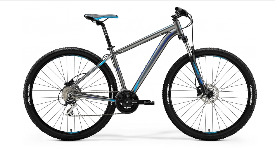 MERIDA BIG.NINE 20-D Silk Anthracite(Sky Blue/Blue) 2018 vel.15""