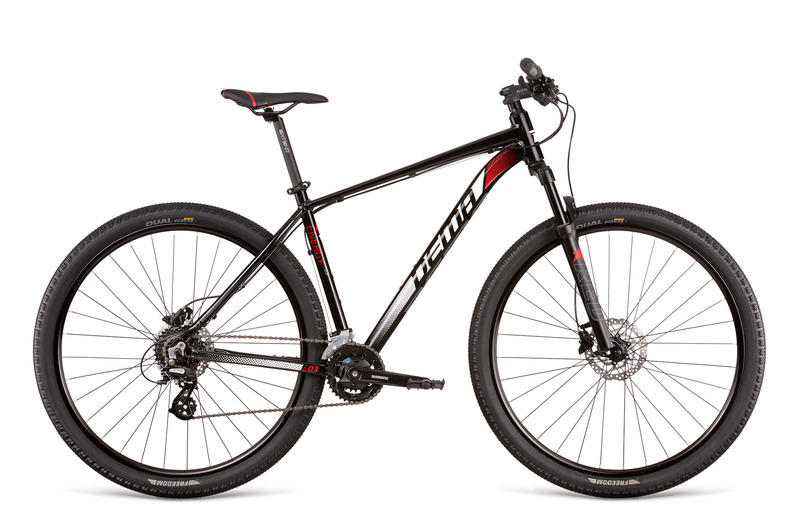 "Dema ENERGY 3 black-red 17"" 2020"