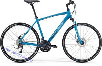 MERIDA CROSSWAY 40-D Matt Blue(Black/White) 2016 52cm