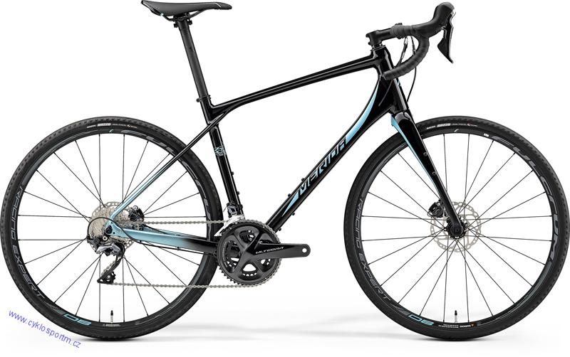 MERIDA SILEX 700 Matt Met. Black(Lite Blue) 2019
