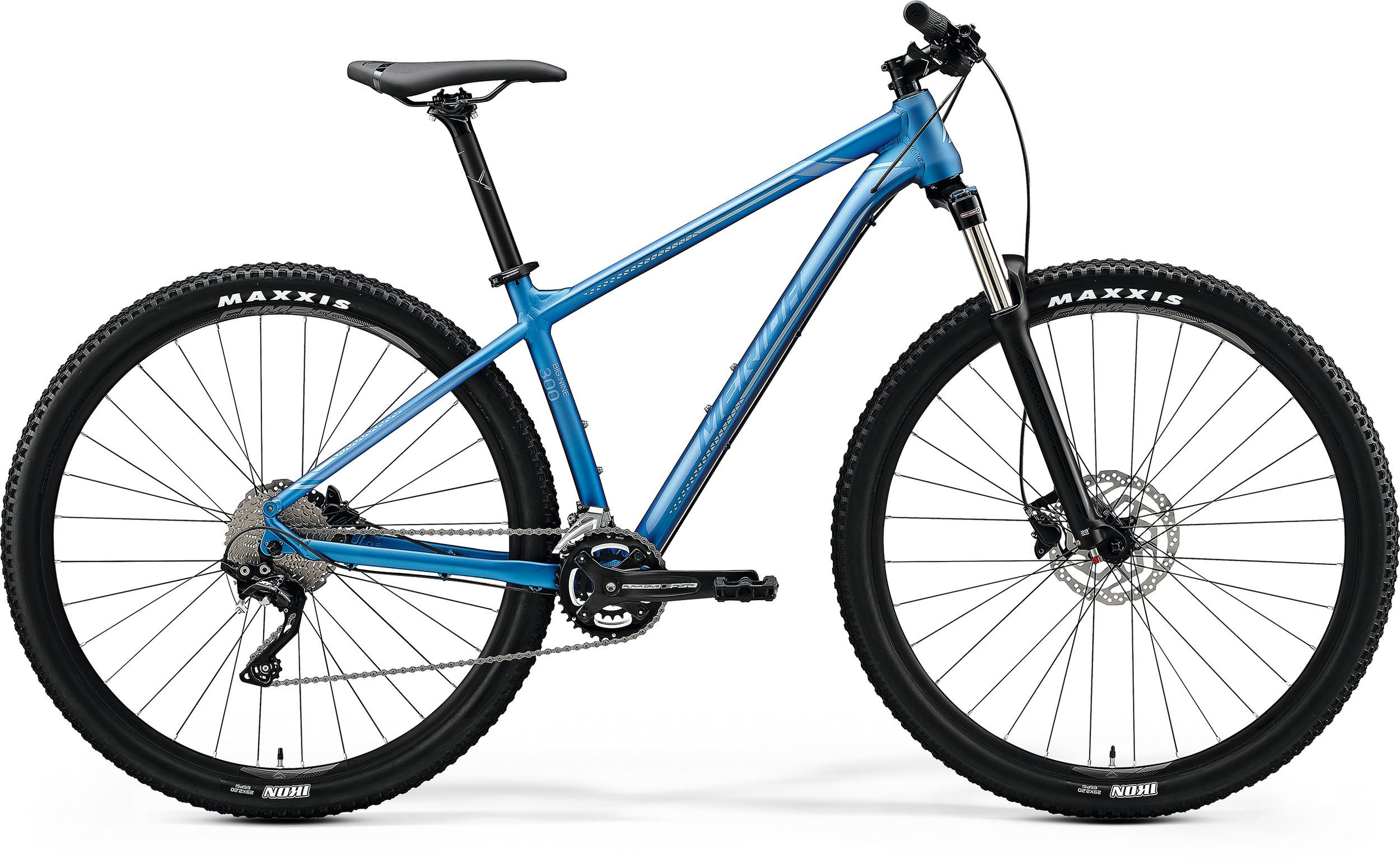 MERIDA BIG.NINE 300 Matt Light Blue(Glossy Blue/Silver) 2020 vel. L