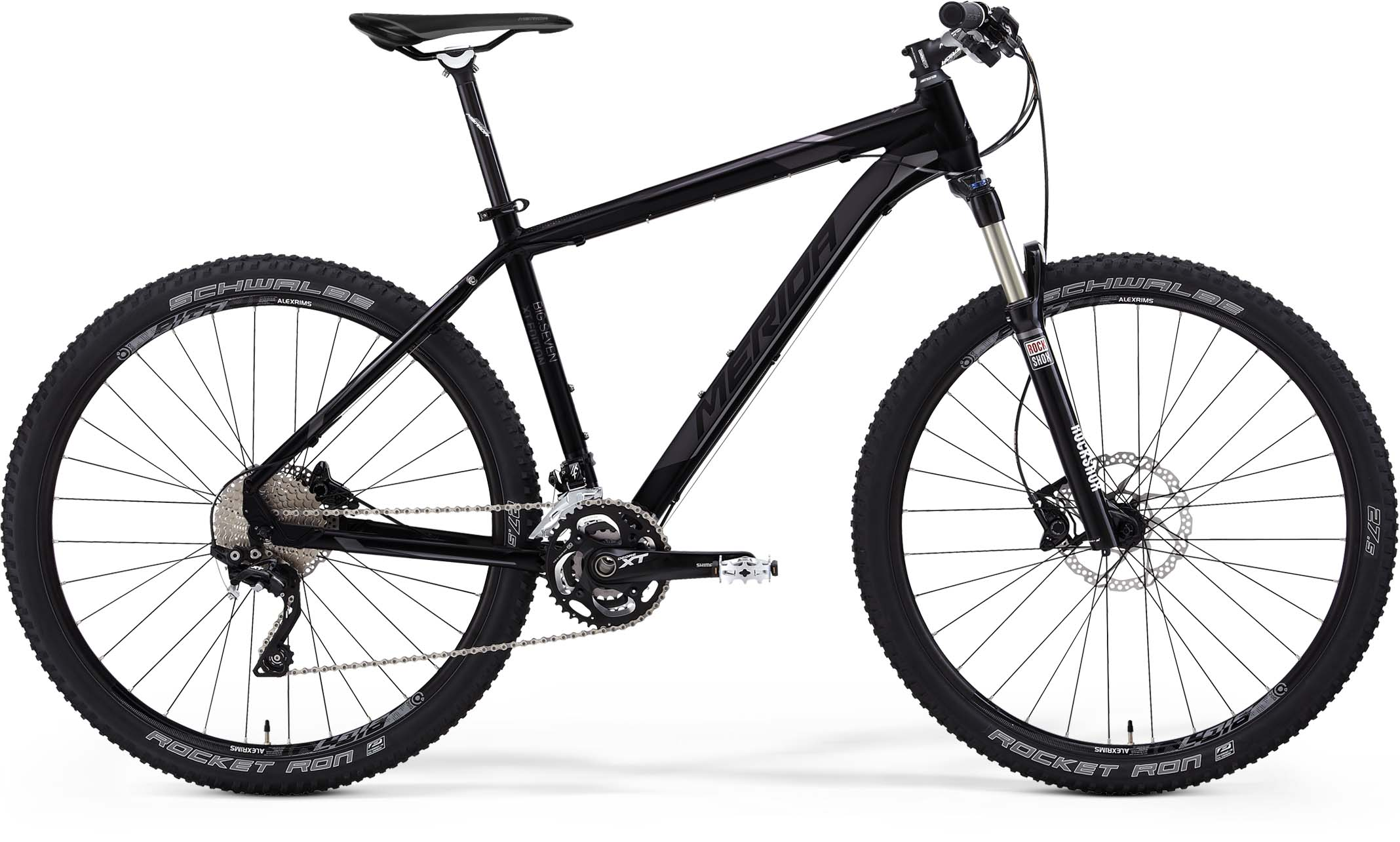 MERIDA BIG.SEVEN XT EDITION Matt Black(Dark Grey) 2015 20""