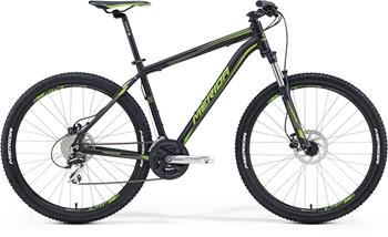 MERIDA BIG.SEVEN 20-D Matt Black(Green) 2016 17""