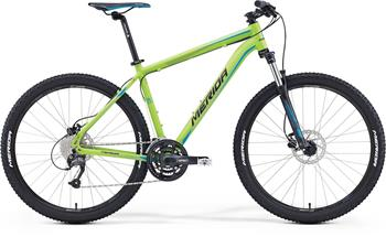 MERIDA BIG.SEVEN 40-D Matt Green(Blue/Black) 2016