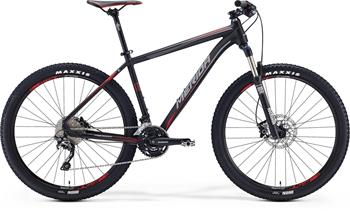 MERIDA BIG.SEVEN 500 Matt Black(Red/Grey) 2016