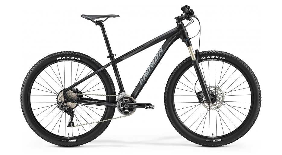 MERIDA BIG.SEVEN XT EDITION Matt Black(Grey) 2017 rám 20""