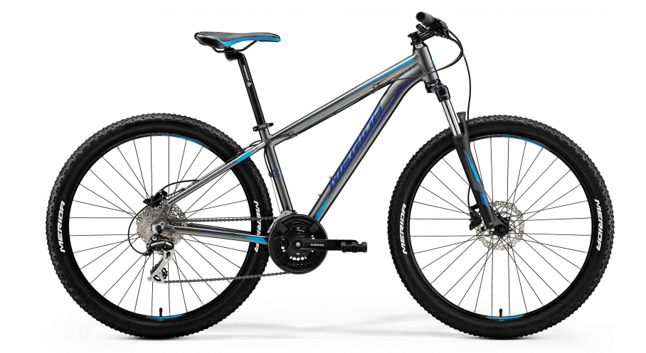 "MERIDA BIG.SEVEN 20-D Silk Anthracite(Sky Blue/Blue) 2018 vel.S (15"")"