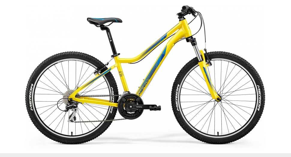 Merida JULIET 6.20-V Yellow(Dark Blue) 2018