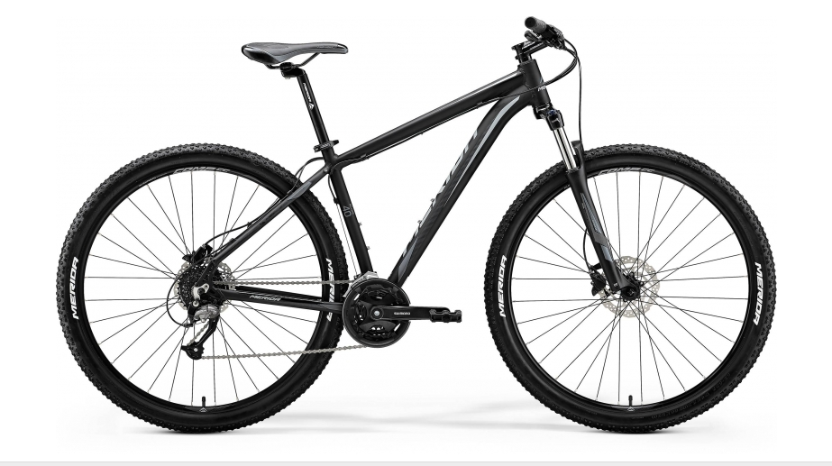 "MERIDA BIG.NINE 40-D Matt Black(Grey) 2018 M (17"")"