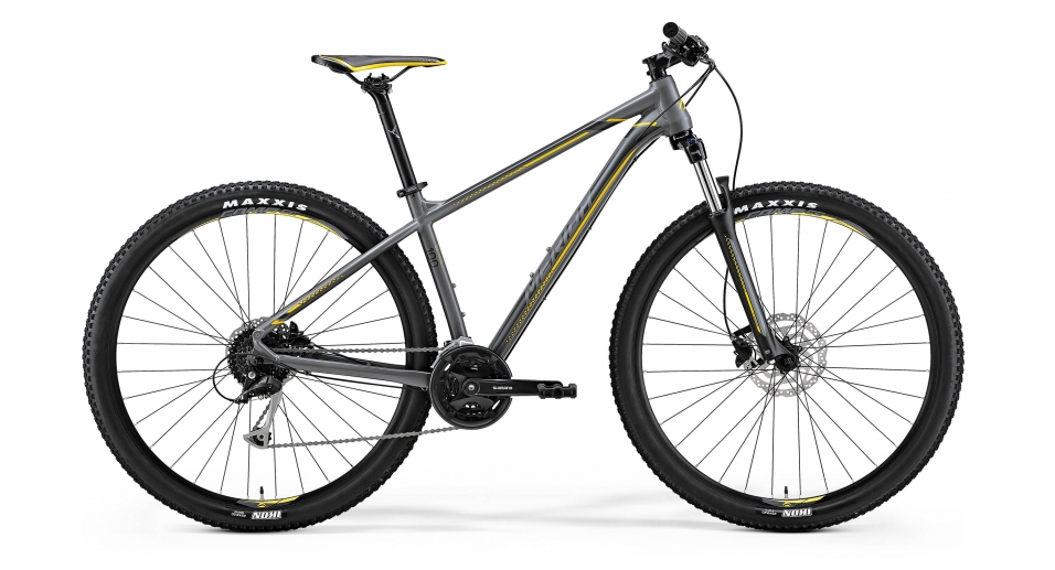 MERIDA BIG.NINE 100 Matt Grey(Yellow/Dark Grey) 2018 XL(20)
