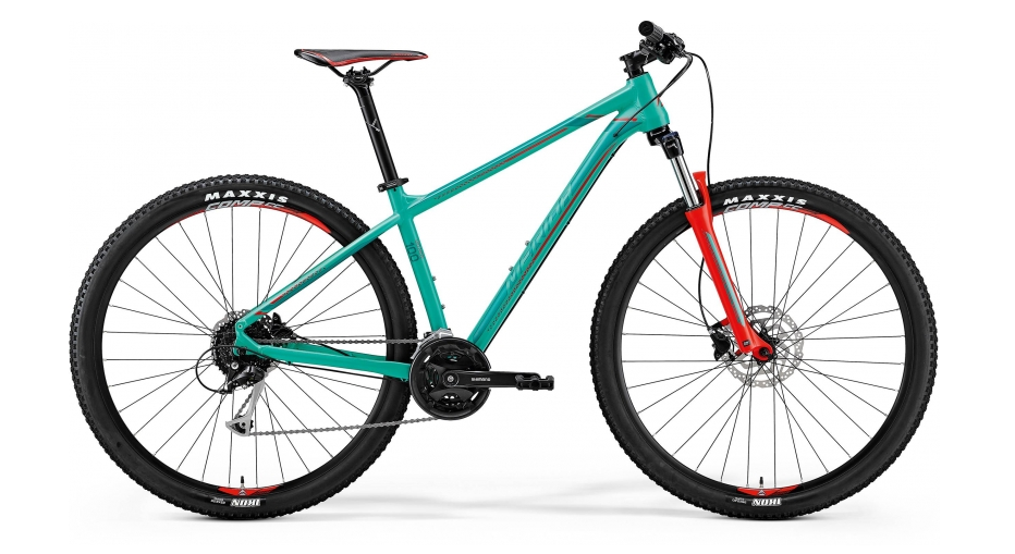 MERIDA BIG.NINE 100 Green(Red/Dark Green) 2018