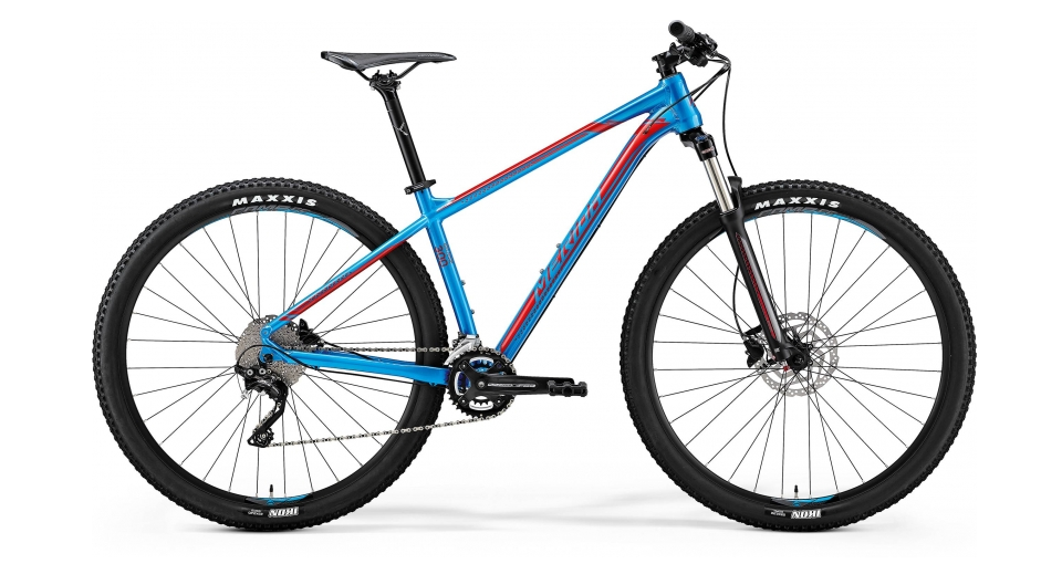 MERIDA BIG.NINE 300 Metallic Blue(Red) 2018