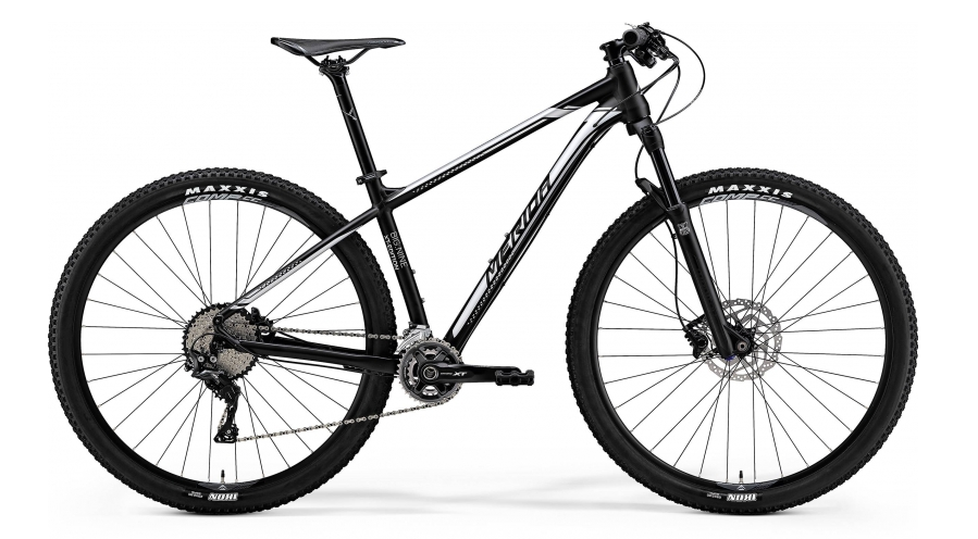 MERIDA BIG.NINE XT EDITION Matt Black(Silver) 2018
