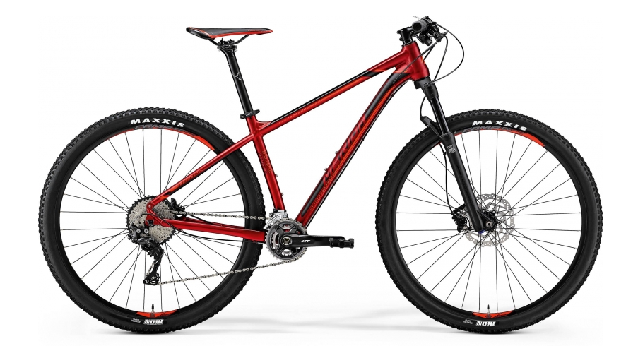 MERIDA BIG.NINE XT EDITION Silk Red(Signal Red/Black) 2018