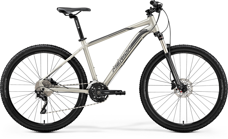 MERIDA BIG.SEVEN 80-D Matt Titan(Black/Silver) 2019