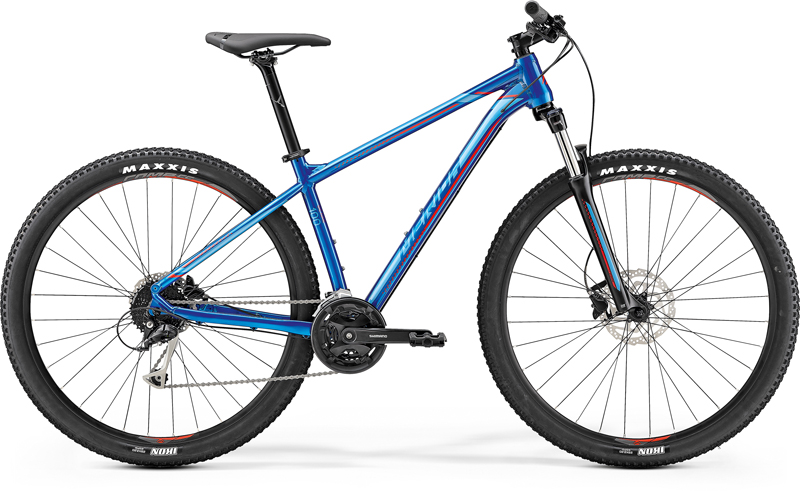 "MERIDA BIG.NINE 100 Glossy Blue(Red) 2019 vel. M (17"")"