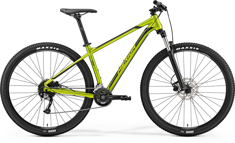 "MERIDA BIG.NINE 200 Glossy Olive(Green/Black) 2019 vel.L (18.5"")"
