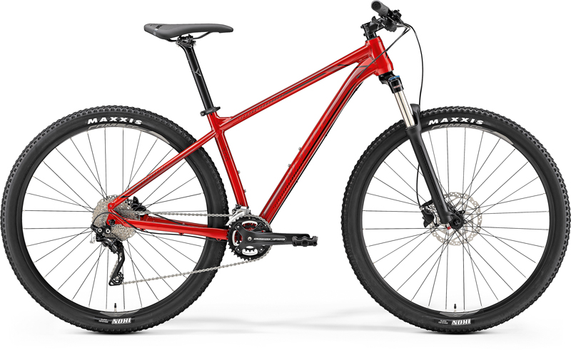 "MERIDA BIG.NINE 300 Metallic Red(Dark Red/Black) 2019 vel. M (17"")"
