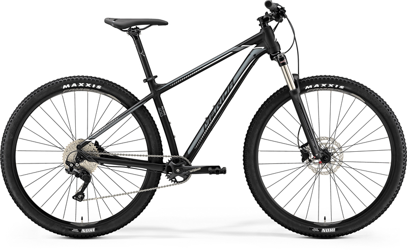 MERIDA BIG.NINE 400 Matt Black(Silver/White) 2019 vel.XL 20""