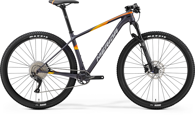 "MERIDA BIG.NINE 3000 Matt Dark Silver(Orange) 2019 vel.XL (21"")"