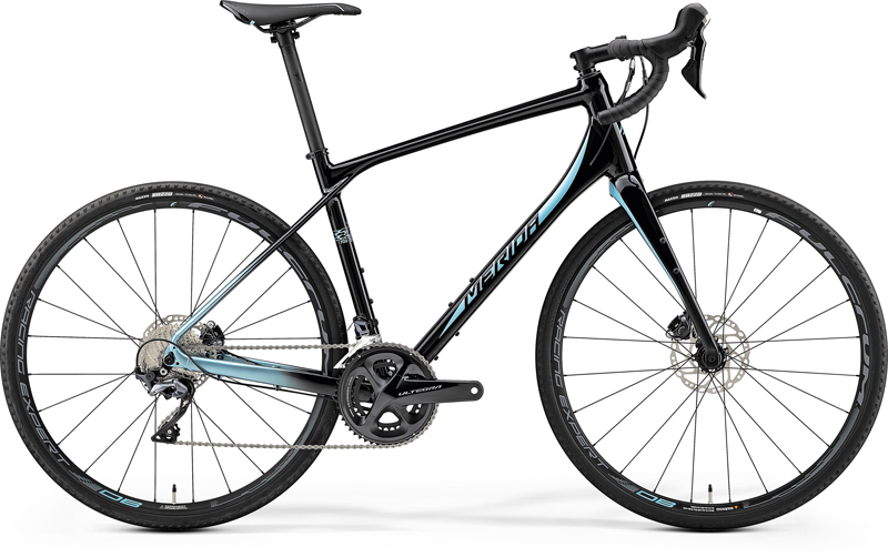 MERIDA SILEX 700 Matt Met. Black(Lite Blue) 2019 vel. M (50)