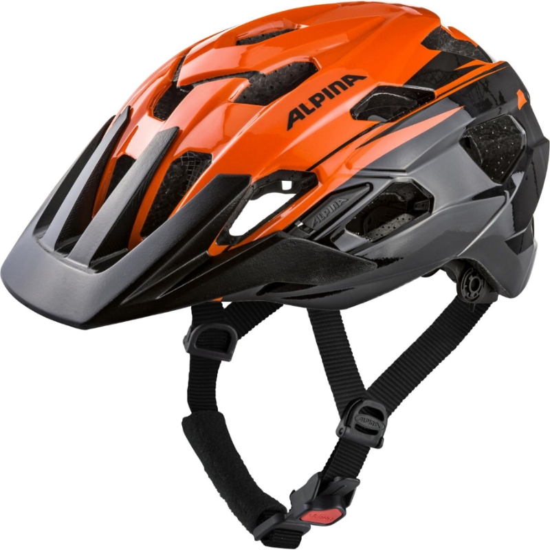 Přilba ALPINA ANZANA orange-black 57-61cm