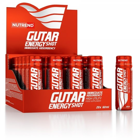 Nápoj Nutrend GUTAR ENERGY SHOT 60ml