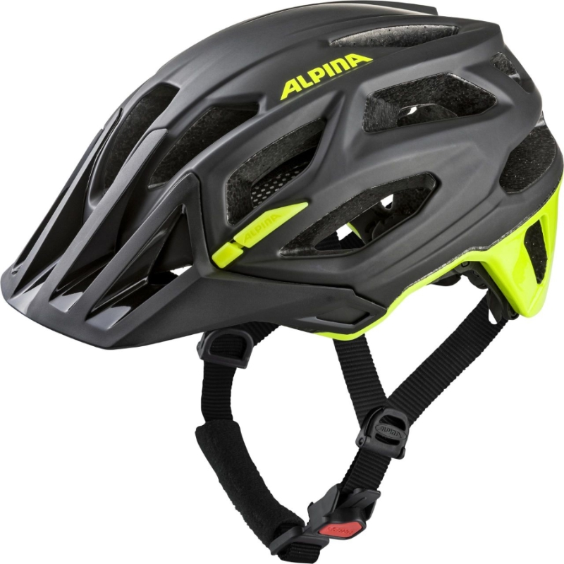 Přilba ALPINA GARBANZO  black-neon-yellow 52-57cm