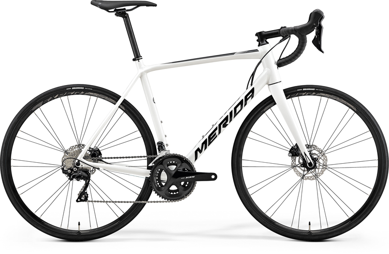 MERIDA SCULTURA DISC 400 White(Black) 2019
