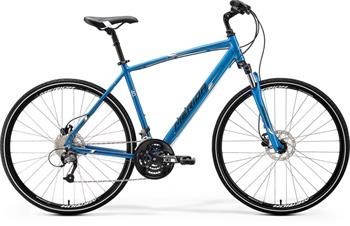 MERIDA CROSSWAY 40-D Matt Blue(Black/White) 2016 vel. M (52cm)