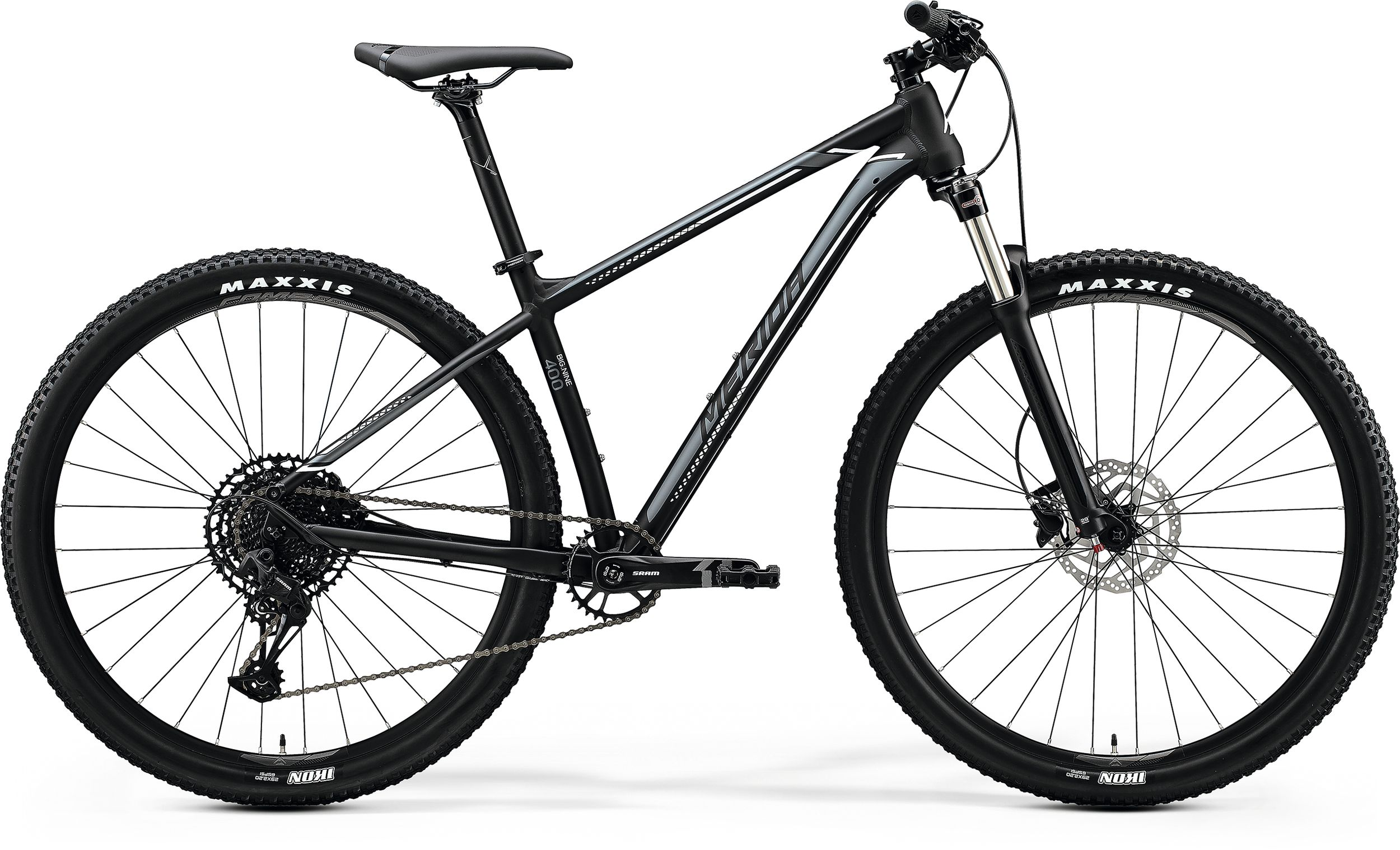 MERIDA BIG.NINE 400 Matt Black(Silver/White) 2020