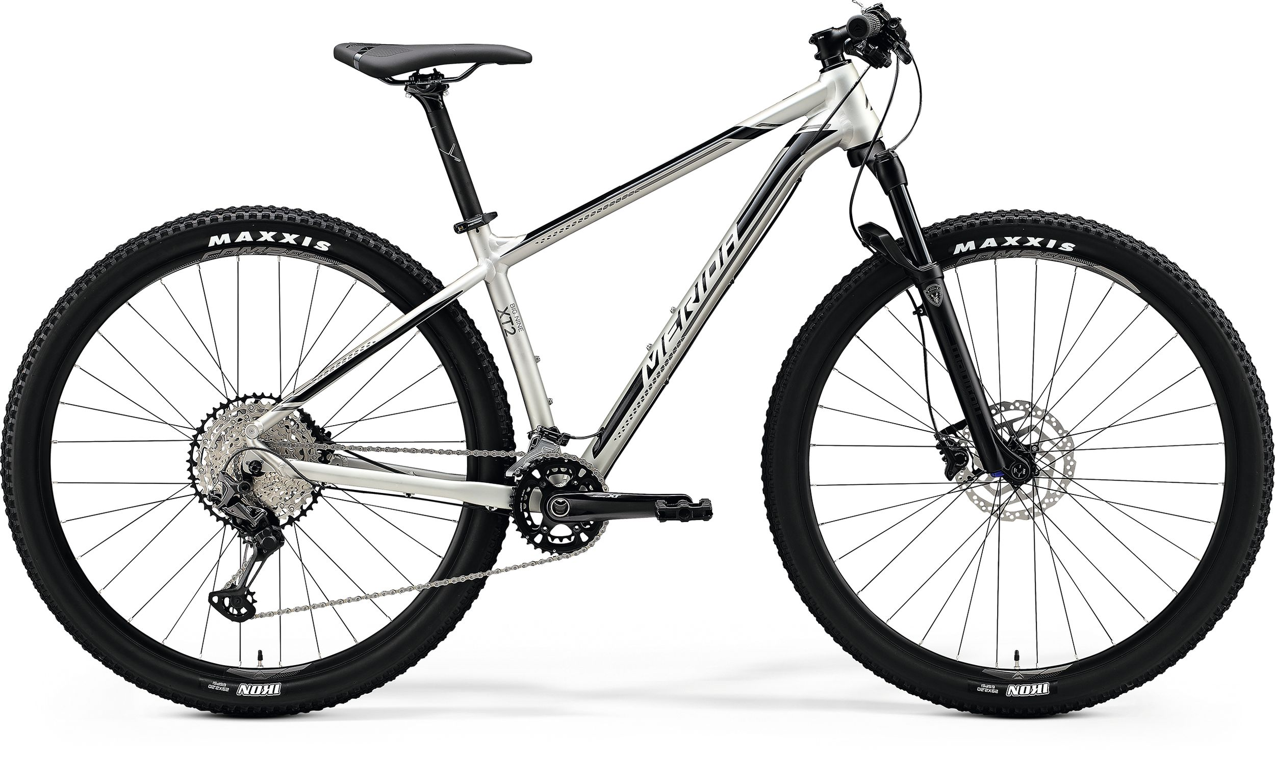 MERIDA BIG.NINE XT2 Matt Titan(Glossy Black) 2020 vel.XL