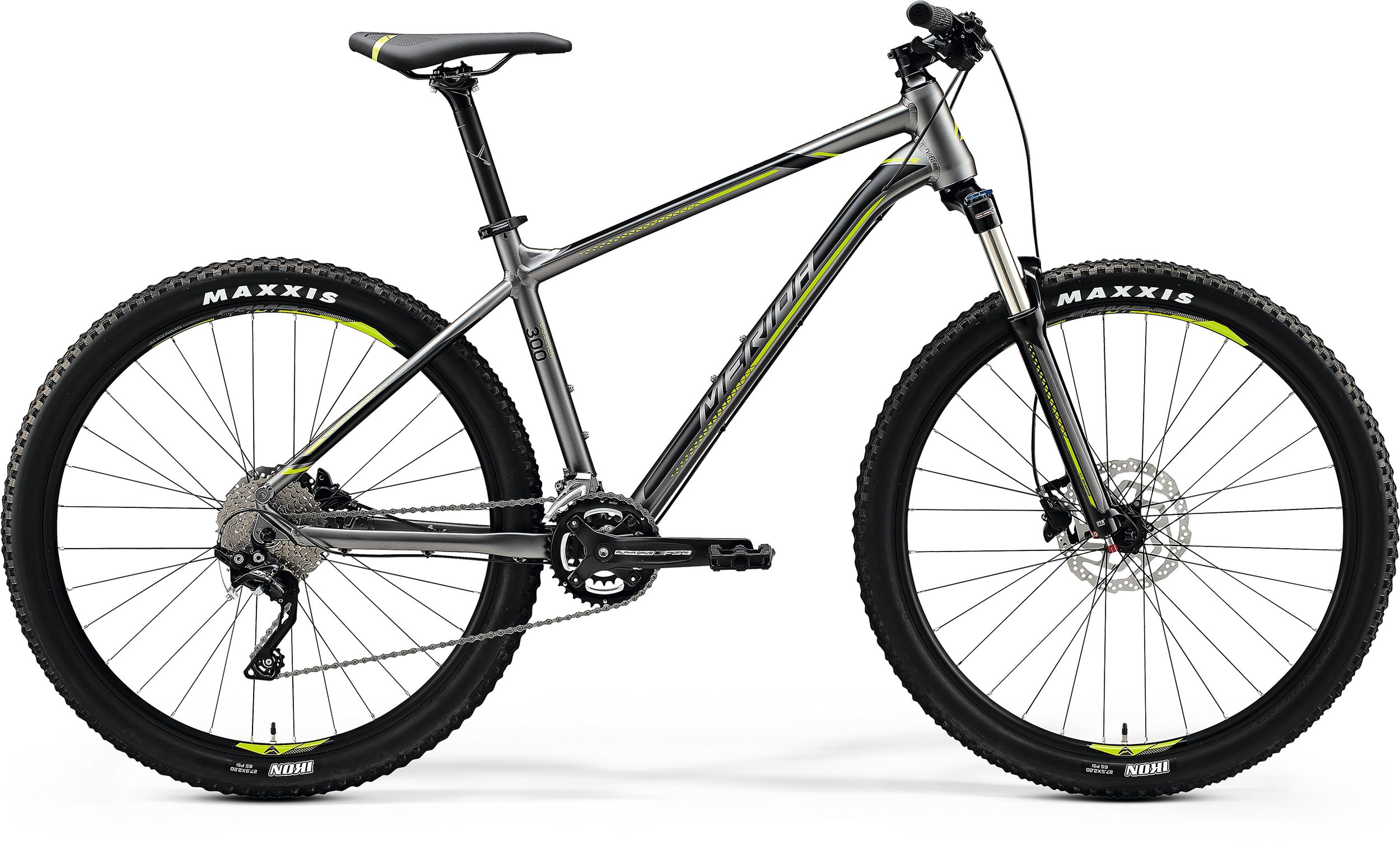 MERIDA BIG.SEVEN 300 Silk Anthracite(Green/Black) 2020