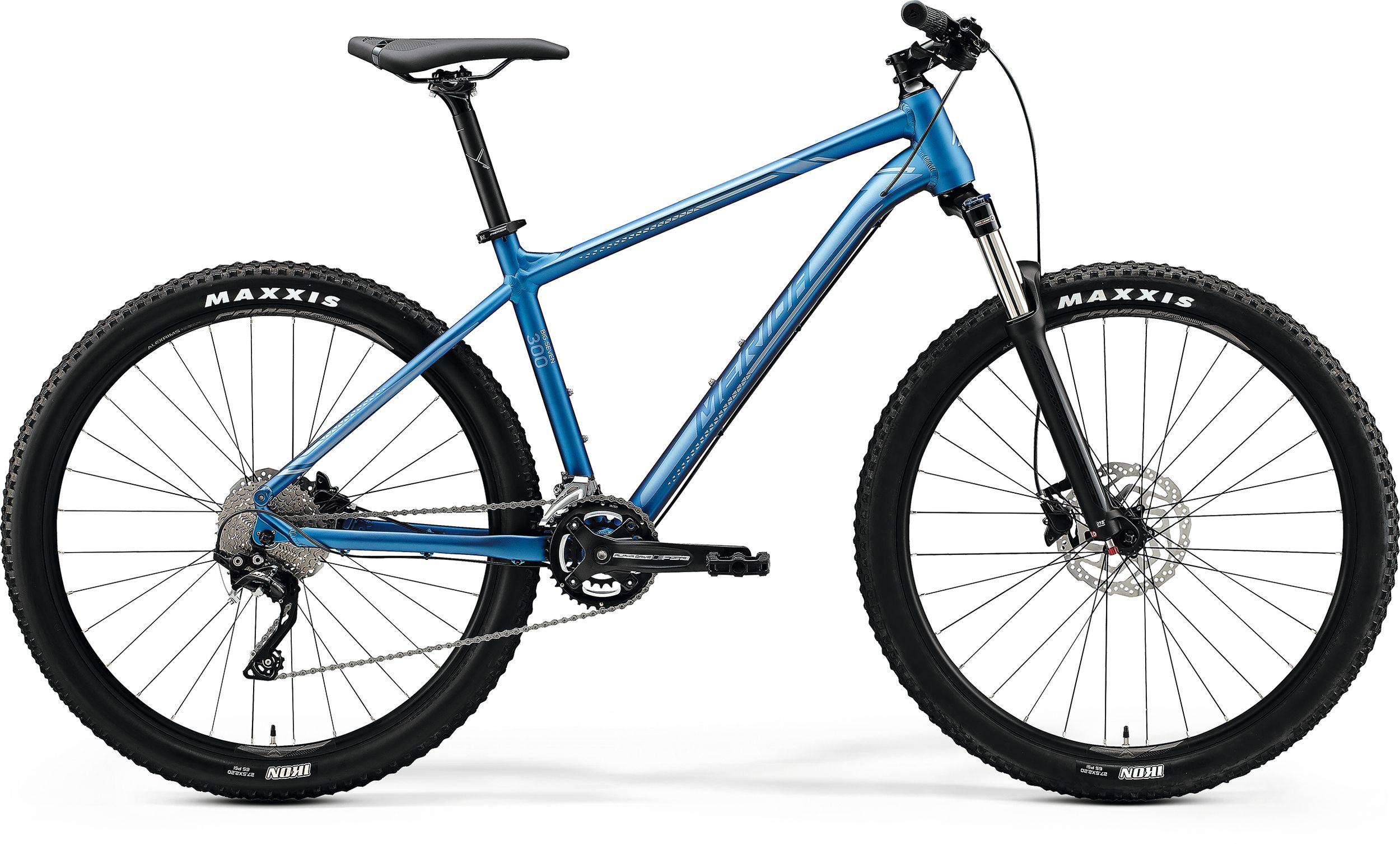MERIDA BIG.SEVEN 300 Matt Light Blue(Glossy Blue/Silver) 2020