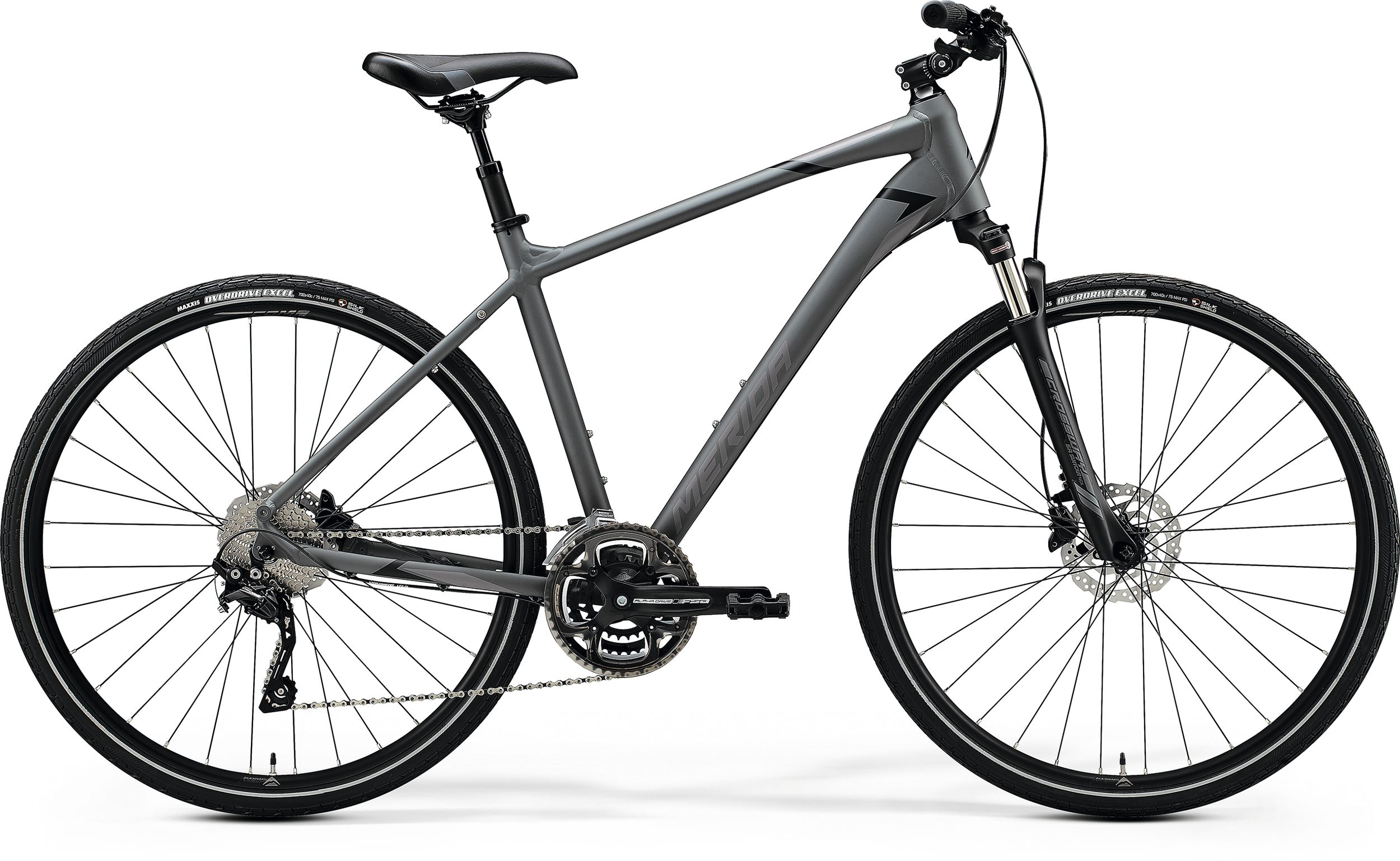 MERIDA CROSSWAY 300 Matt Dark Grey(Black) 2020