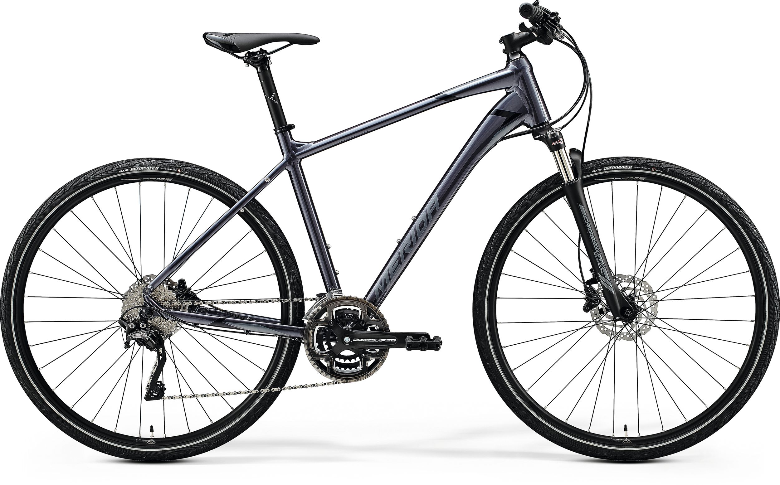MERIDA CROSSWAY 500 Glossy Anthracite(Black/Silver) 2020