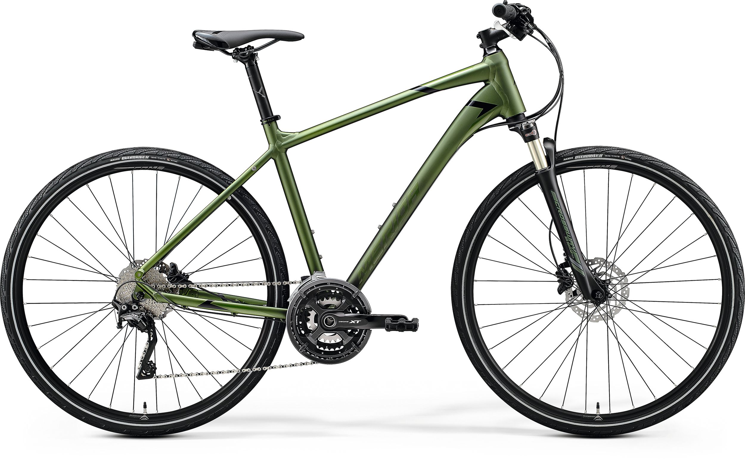 MERIDA CROSSWAY XT-EDITION Matt Fog Green(Glossy Green/Black) 2020