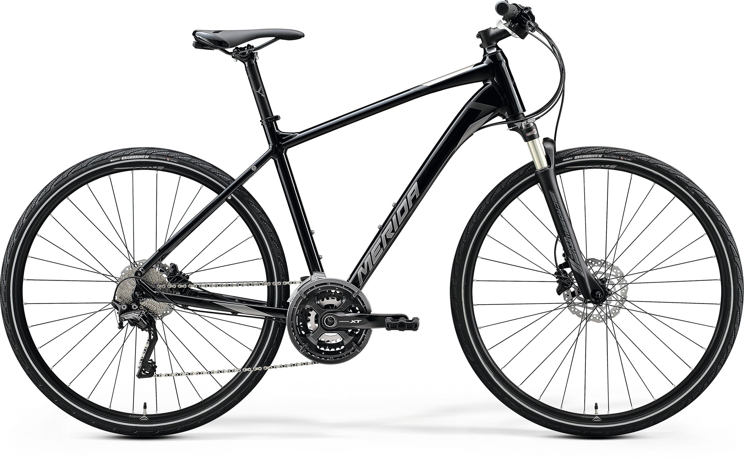 MERIDA CROSSWAY XT-EDITION Glossy Black(Matt Silver/Black) 2020