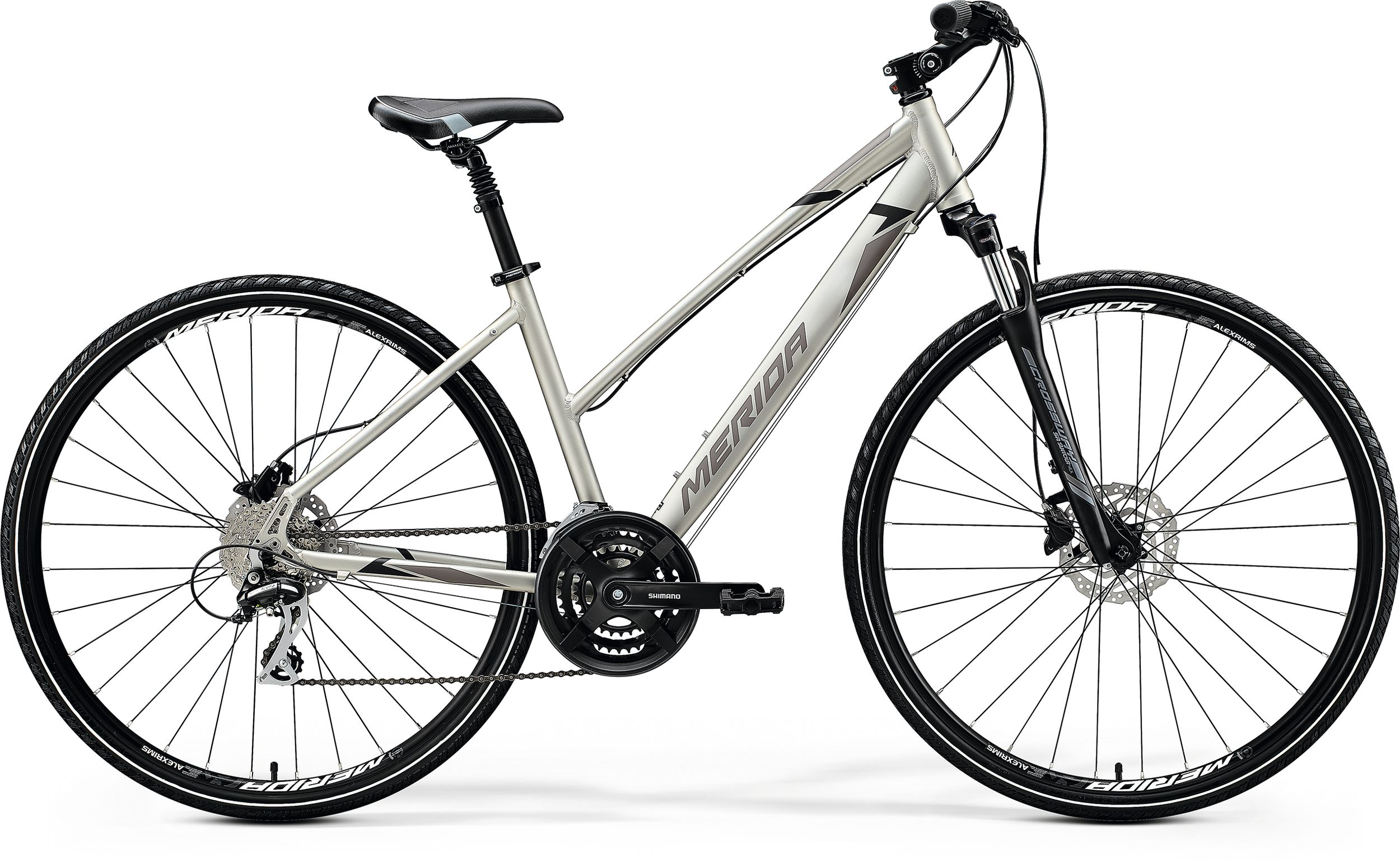 MERIDA CROSSWAY 20-D-LADY Silk Titan(Black/Grey) 2020