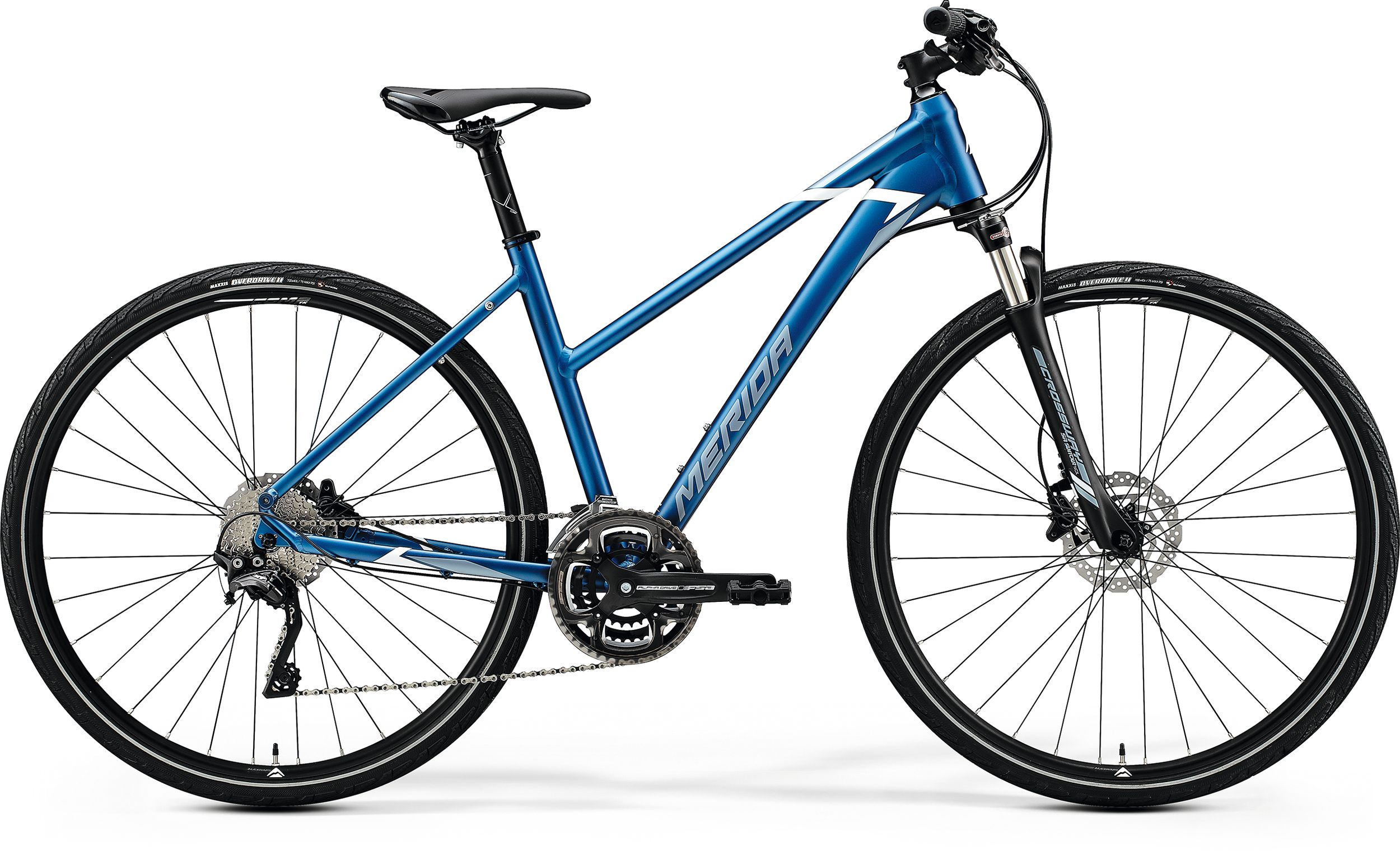 MERIDA CROSSWAY 500-LADY Silk Light Blue(Silver-Blue/White) 2020