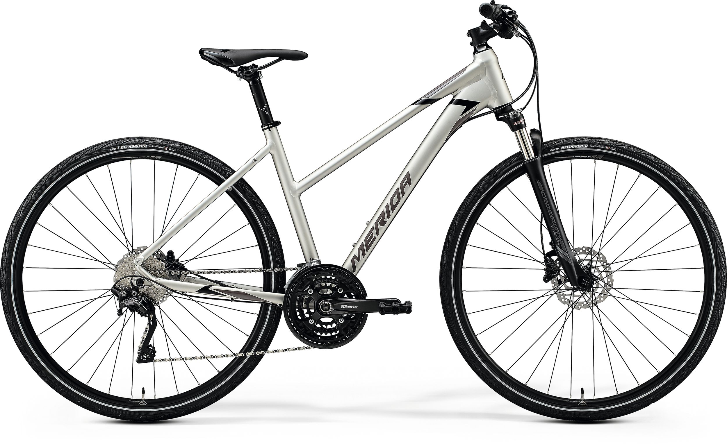 MERIDA CROSSWAY 600-LADY Matt Titan(Glossy Black/Grey) 2020