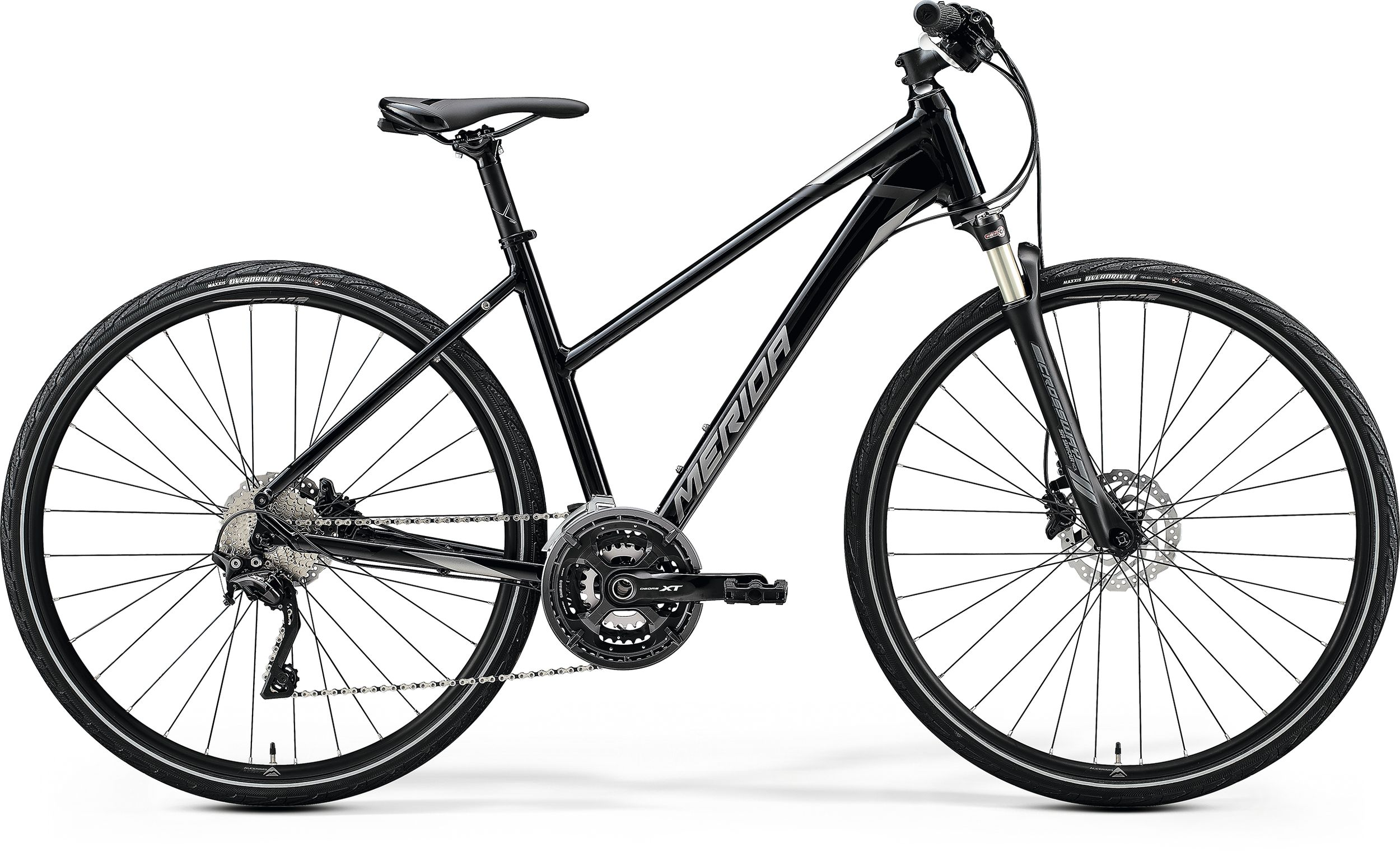 MERIDA CROSSWAY XT-EDITION-LADY Glossy Black(Matt Silver/Black) 2020