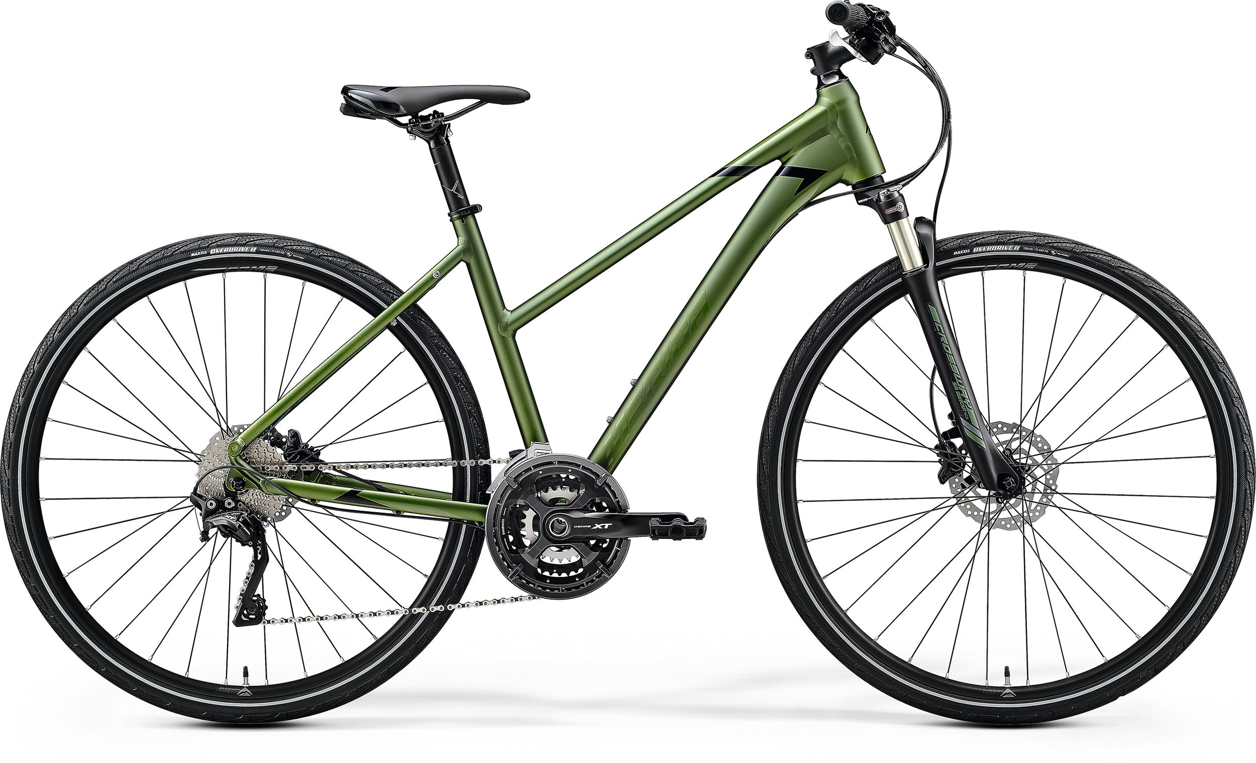 MERIDA CROSSWAY XT-EDITION-LADY Matt Fog Green(Glossy Green/Black) 2020