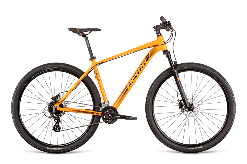 "Dema ENERGY 3 orange-black 19"" 2020"