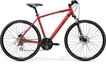 MERIDA CROSSWAY 20-D Matt X'Mas Red(Black/Dark Red) 2020 vel. L