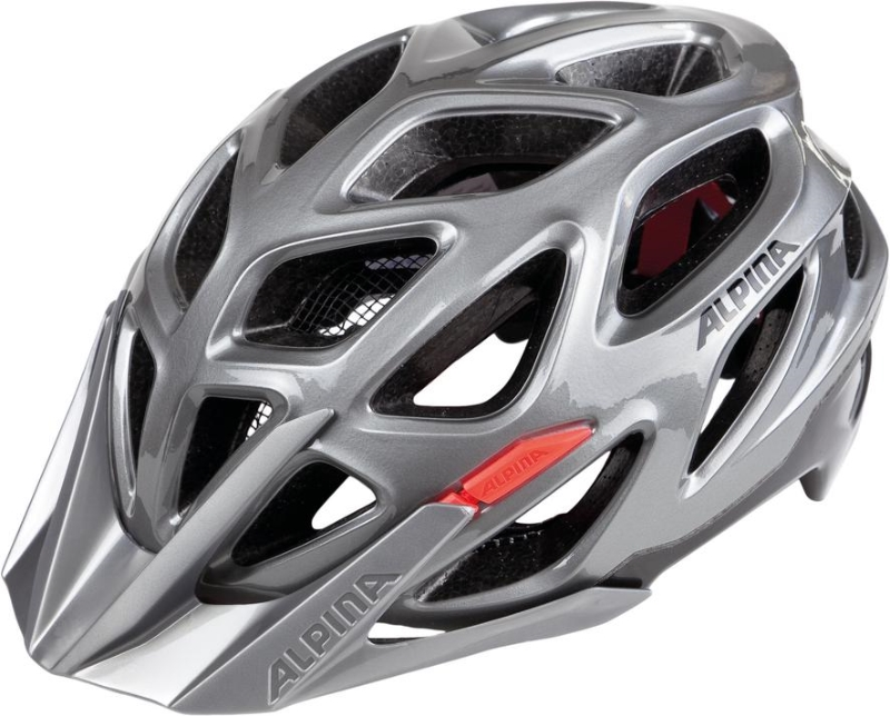 Přilba ALPINA MYTHOS 3.0 darksilver-black-red 57-62cm